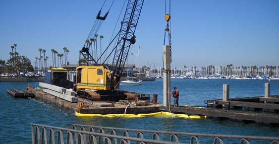 Pacific Dock Piling Homepage